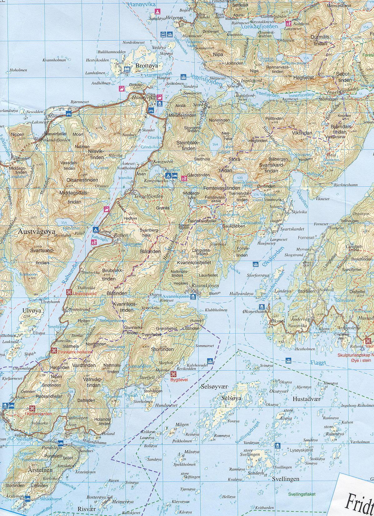 digermulen kart .hinnøy.no   Kart digermulen kart